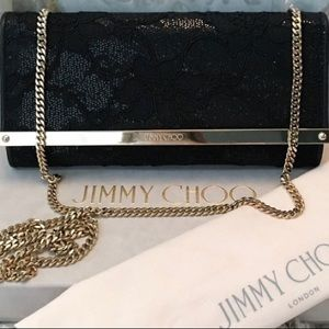 "NWT Jimmy Choo ""Milla""  Italian Crafted Clutch"
